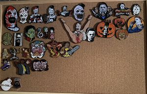 Horror enamel pins for Sale in CORP CHRISTI, TX