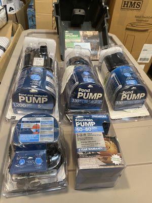 Fountain pump smartpond all for $150 for Sale in Cedar Hill, TX