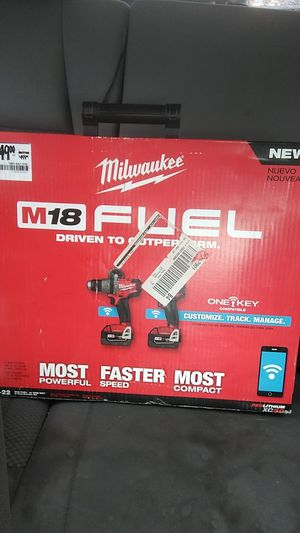 Milwaukee M18 Bluetooth capable hammer drill and impact for Sale in Gulfport, MS