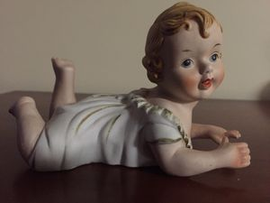 Set of three antique porcelain Angels for Sale in Miami, FL