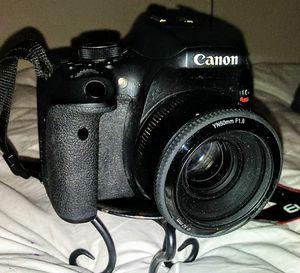 Canon E05 T6i Digital Camera w/ additional Lens for Sale in Walnut Creek, CA