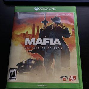 Xbox One Mafia Definitive Edition for Sale in Mesa, AZ