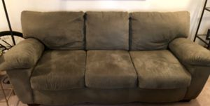 Ashley Furniture Green Microfiber couch for Sale in San Diego, CA
