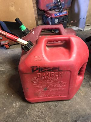 Gas ⛽️ can for Sale in Fresno, CA