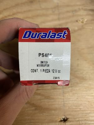 Duralast PS401 Oil Pressure Switch for Sale in Las Vegas, NV