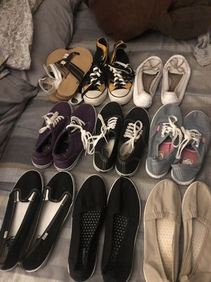 Vans shoes size 7 & 8 all 8pAirs I sell it for $250 slightly used for Sale in Tacoma, WA