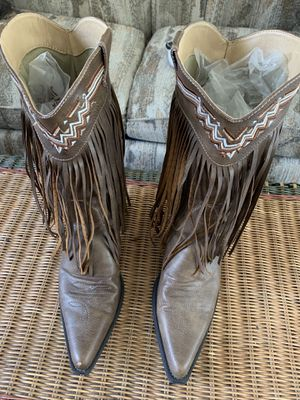 Roper fringe boots for Sale in Warwick, RI