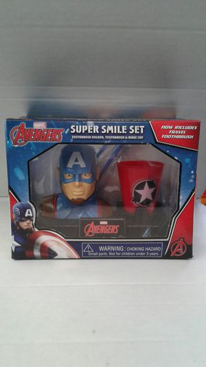 Marvel captain America toothbrush kit for Sale in Westminster, CA