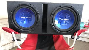 Subs, amp, wiring for Sale in Fannettsburg, PA