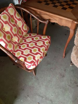 Antique game table 4 chairs for Sale in Norfolk, VA