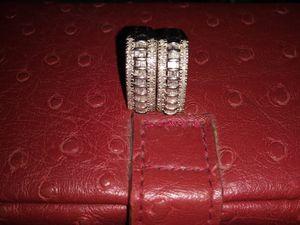 2ct Diamond earrings, 14kt White Gold for Sale in Columbus, OH