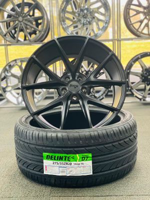 ⭐️Brand New 20x9 - 20x10 Niche Misano M117 Black Staggered Wheels for Sale in Lilburn, GA