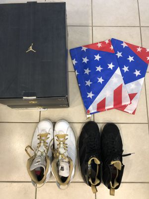 AIR JORDAN 7/6 RETRO 'GOLDEN MOMENTS PACK' size 12 for Sale in San Mateo, CA