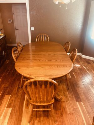 SOLID Oak Dining Room Set! for Sale in Modesto, CA