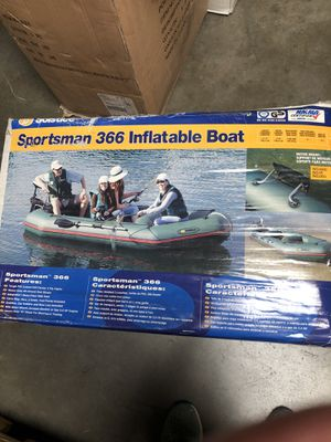 12' DLX inflatable boat for Sale in Huntington Beach, CA