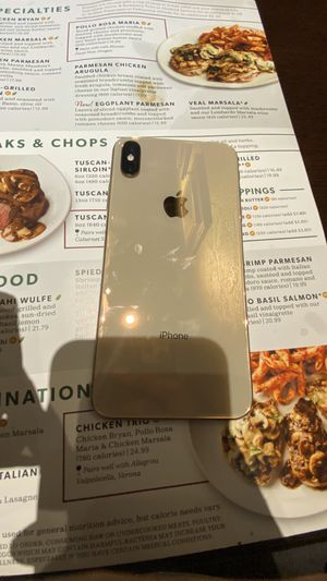 AT&T/CRICKET IPHONE XS MAX 64GB GOLD for Sale in Decatur, GA