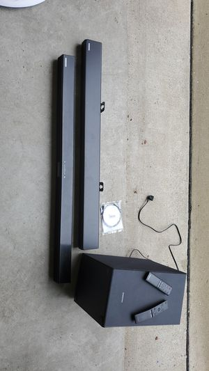 Samsung soundbars and subwoofer for Sale in Nolensville, TN