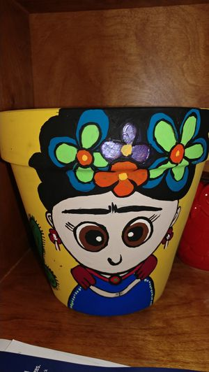 Hand painted plant pots for Sale in Vallejo, CA