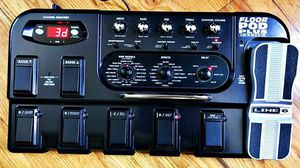 Line 6 FLOOR POD PLUS Guitar Multi Effects Pedal +Power, EXCELLENT... for Sale in West Los Angeles, CA