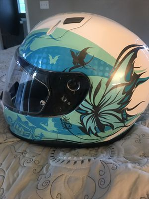 Woman's motorcycle helmet and jacket for Sale in Denver, CO