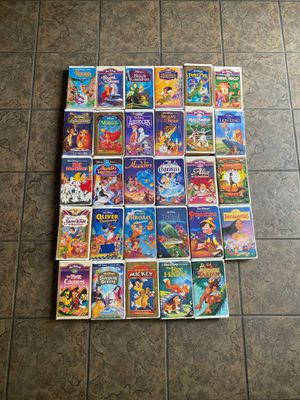Disney VHS Collection for Sale in Riverside, CA