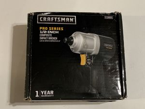 """Craftsman ProSeries 1/2"""" Composite Impact Wrench 19865 for Sale in Anaheim, CA"""
