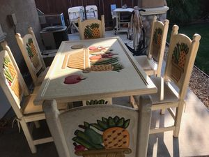 Dining Table 6 chairs for Sale in Salida, CA