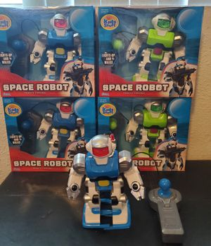 New remote control space robot $7 each for Sale in Riverside, CA