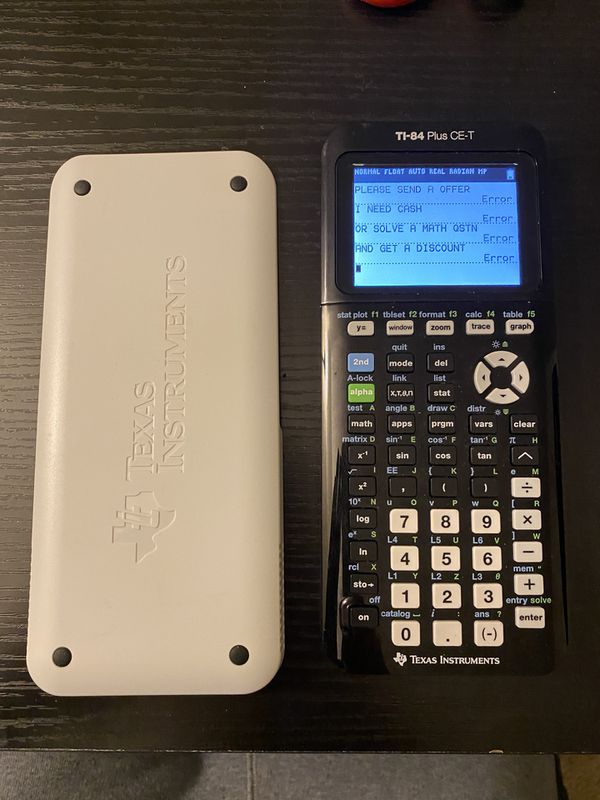 Texas Instruments TI-84 Plus CE-T Couloured Graphing Calculator