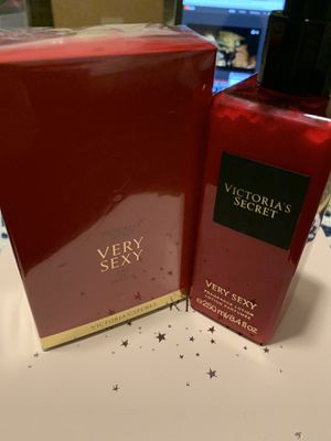 NEW VICTORIA'S SECRET VERY SEXY PERFUME 50ml/1.7 ml oz and FRAGRANCE 250 ml/8.4 fl oz for Sale in Davenport, FL