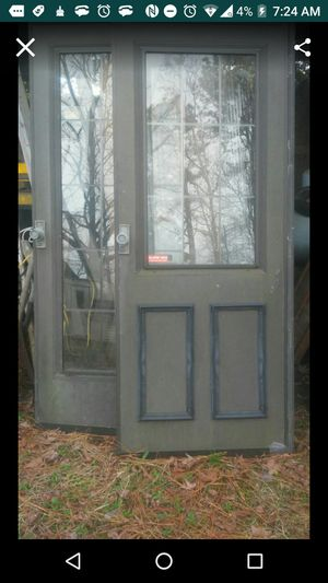 Standard size aluminum gas front doora for Sale in Durham, NC
