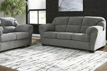 Allmaxx Pewter Living Room Set 💲39 DOWN for Sale in Houston,  TX