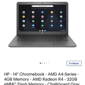 Hp Google Chrome book Used Good for Sale in Mission Viejo, CA