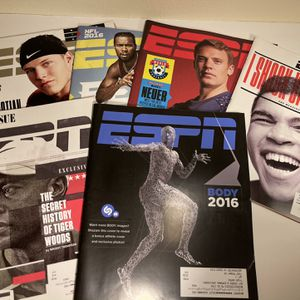 6 Issues Of ESPN Magazine 2016 for Sale in Garden Grove, CA