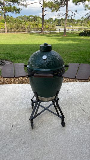 Large Big Green Egg for Sale in Palm City, FL