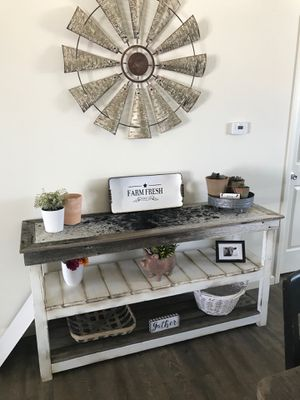 Reclaimed Farmhouse Console Table for Sale in Denver, CO
