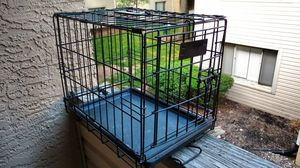 18 x 12 x 14 in extra small folding black dog crate for Sale in Columbus, OH