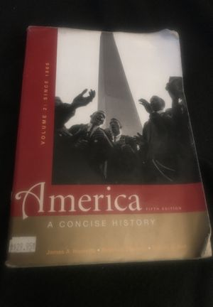 America fifth edition a concise history for Sale in Norwalk, CA