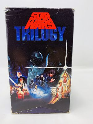 Star Wars Trilogy VHS Box Sets 1995 for Sale in El Monte, CA
