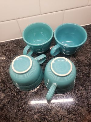 Old Fiesta Coffee cups for Sale in Elgin, IL