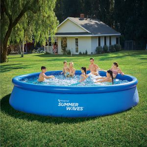 Summer Waves 15ft x 36in Quick Set Inflatable Pool for Sale in Portland, OR