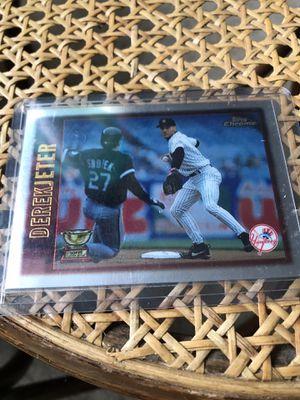 Derek Jeter Baseball Card for Sale in Fairview, OR