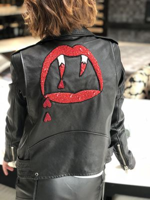 Saint Laurent Blood Luster Jacket Size 2 Authentic Retail for 5850$ NEW for Sale in Miami, FL