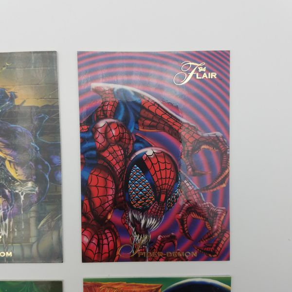 Marvel 1994 Flair Fleer Maximum Carnage Trading Card Set of 6