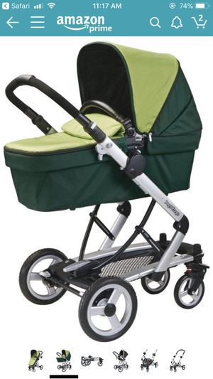 Peg Perego skate system with bassinet and chair attachments for Sale in Orlando, FL