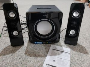 Bluetooth speaker system with subwoofer for Sale in Glendale Heights, IL