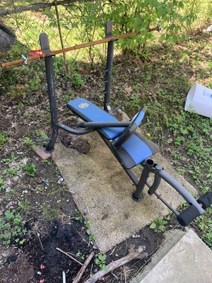 Moving today weight bench $40 come get for Sale in Columbus, OH