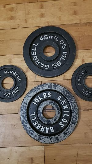 """Weight plates 2 """" for Sale in Upper Marlboro, MD"""