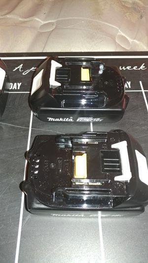 2 Makita bateries 18v. 2ah. $ 35 each for Sale in Avondale, AZ
