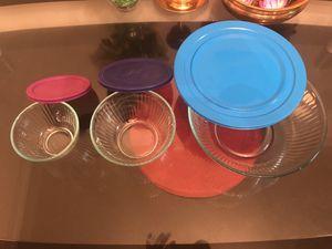 pyrex bowls 3 set / 6 piece total for Sale in Smyrna, GA